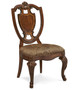 Old World - Shield Back Side Chair w/ Fabric Seat  - ART Furniture - 143202-2606
