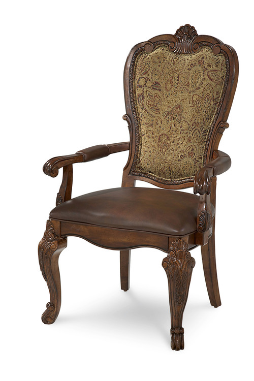 Old World- Upholstered Back Arm Chair  - ART Furniture - 143207-2606