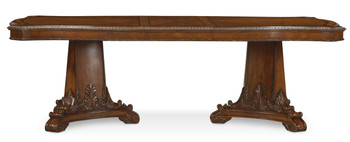 Old World- Double Pedestal Dining Table  - ART Furniture - 143221-2606