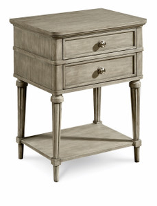Morrissey - Kirke Leg Nightstand - Bezel  - ART Furniture - 218141-2727