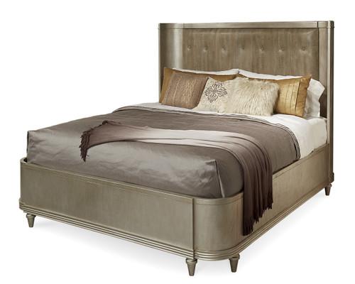 Morrissey - 6/6 Lloyd Uph Shelter Bed - Bezel  - ART Furniture - 218146-2727