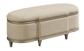 Morrissey - Rhodes Storage Bench - Bezel  - ART Furniture - 218149-2727
