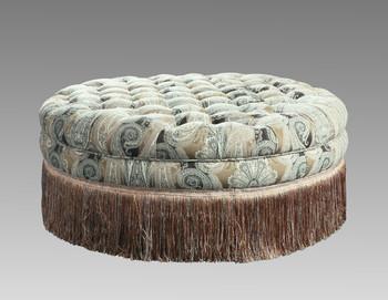 Hawthorne Round Ottoman