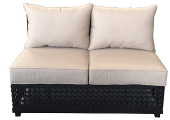 Monterey Armless Love Sectional