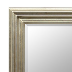 Open Woods Mirror 30x40 Silver Finish