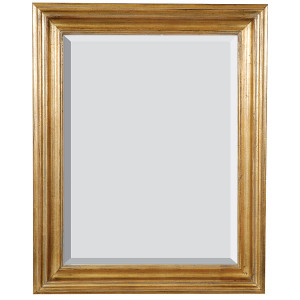 Open Woods Mirror 48x60 Antique Gold Finish