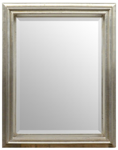 Simple Elegance Mirror 08X10 Silver Finish