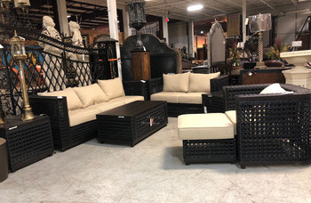 Monterey 7pc Outdoor Sofa Seating Set Patio Furniture
