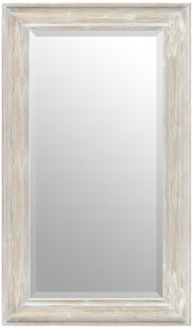 MIsty Woods Mirror 24X48 Distressed White Wash