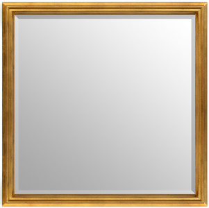 Simple Elegance Mirror Soft Gold 30x30