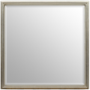 Simple Elegance Mirror Silver 30x30