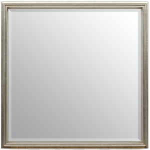 Simple Elegance Mirror Silver 36x36