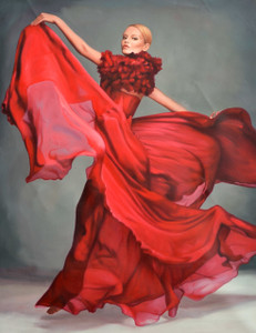 Stunning Flamenco Dancer Gallery Wrap