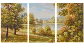 3 Scene Landscape Gallery Wrap