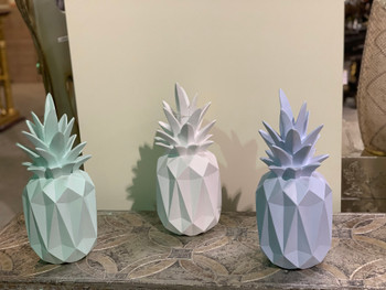 Pineapple Vases Set of 3