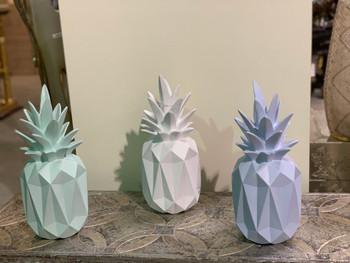 Pineapple Vases Set of 3