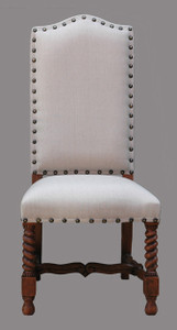 Lisbon Dining Side Chair  Rustic Estate Finish