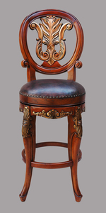 Swivel Barstool in Vintage Estate Finish