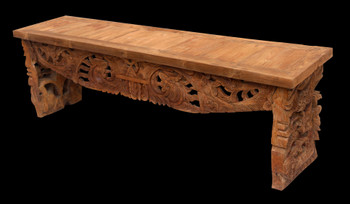 Reclaimed Teak Bench