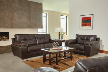 Hudson Chocolate Sofa Set of 3