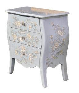 Blue Floral Cabinet