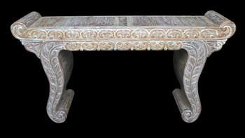 Bali Reclaimed Teak Carved Console
