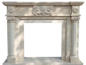 Fireplace Mantel  Beige Marble 29.5x29.5  17922