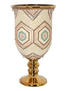 Moroccan Chalice Vase