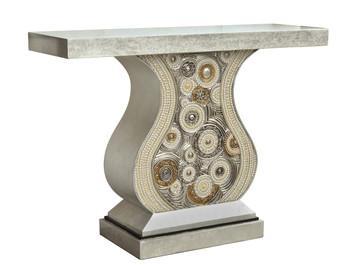Isochromatic Silver Console