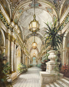 Palace Interior Gallery Wrap 08 4860