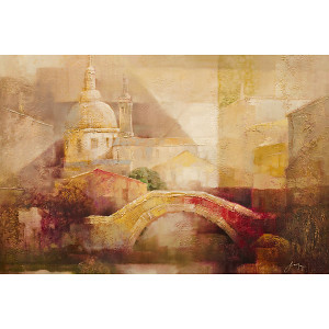 Abstract Bridge Gallery Wrap