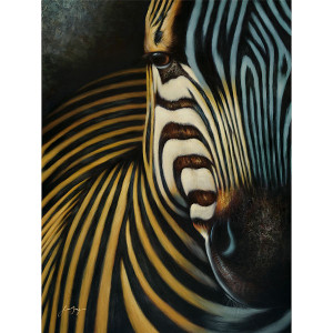 The Zebra Gallery Wrap 36