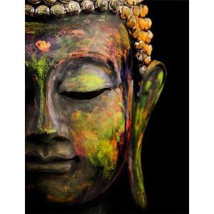 Dayglo Buddha Gallery Wrap 41 3636