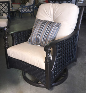 Monterey Swivel Rocking Club Chair