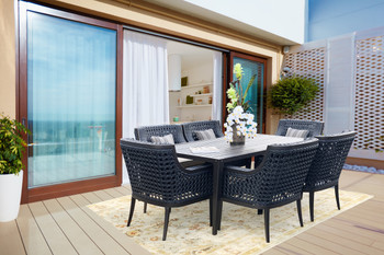 Monterey Outdoor Dining Table Set Of 7