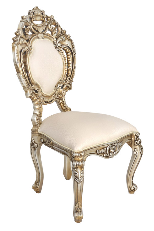 Platine Rococo  Dining Side Chair