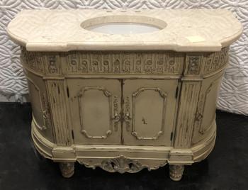 Essex Parchment 53 inch Vanity