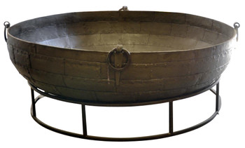 Iron Tub on Stand