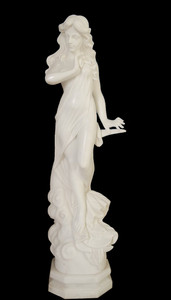 Woman in White Marble 17276