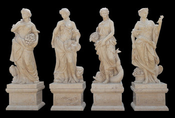 Four Seasons on Bases Beige Marble 17288