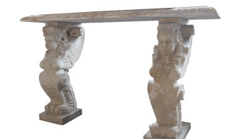 Sphinx Console Table  Travetine  17411