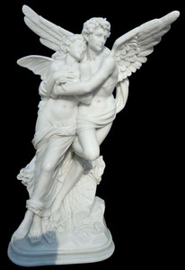 The Flight on Base in White Marble 18046