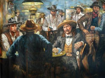 West Poker Gallery Wrap
