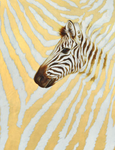Zebra Stripes Gallery Wrap