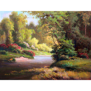 Garden Trail Gallery Wrap 02