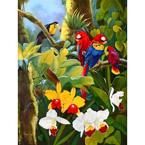 Tropical Fantasy Gallery Wrap 10