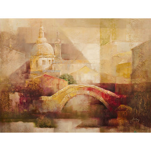 Abstract Bridge Gallery Wrap 24