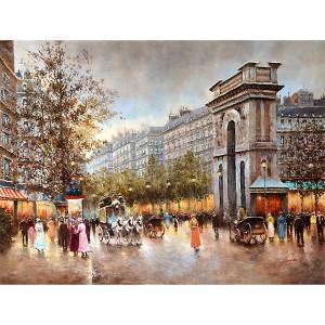 Parisian Street Gallery Wrap 25