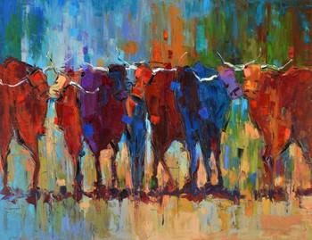 Wild Bulls Gallery Wrap