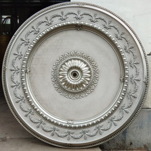 Antique Gray Ceiling Medallion